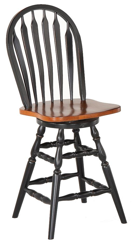 Pub Sets Contour Arrow Back Counter Stool by Amesbury Chair at Dinette Depot