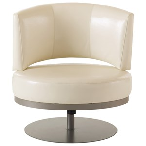 Customizable Singapore Swivel Accent Chair