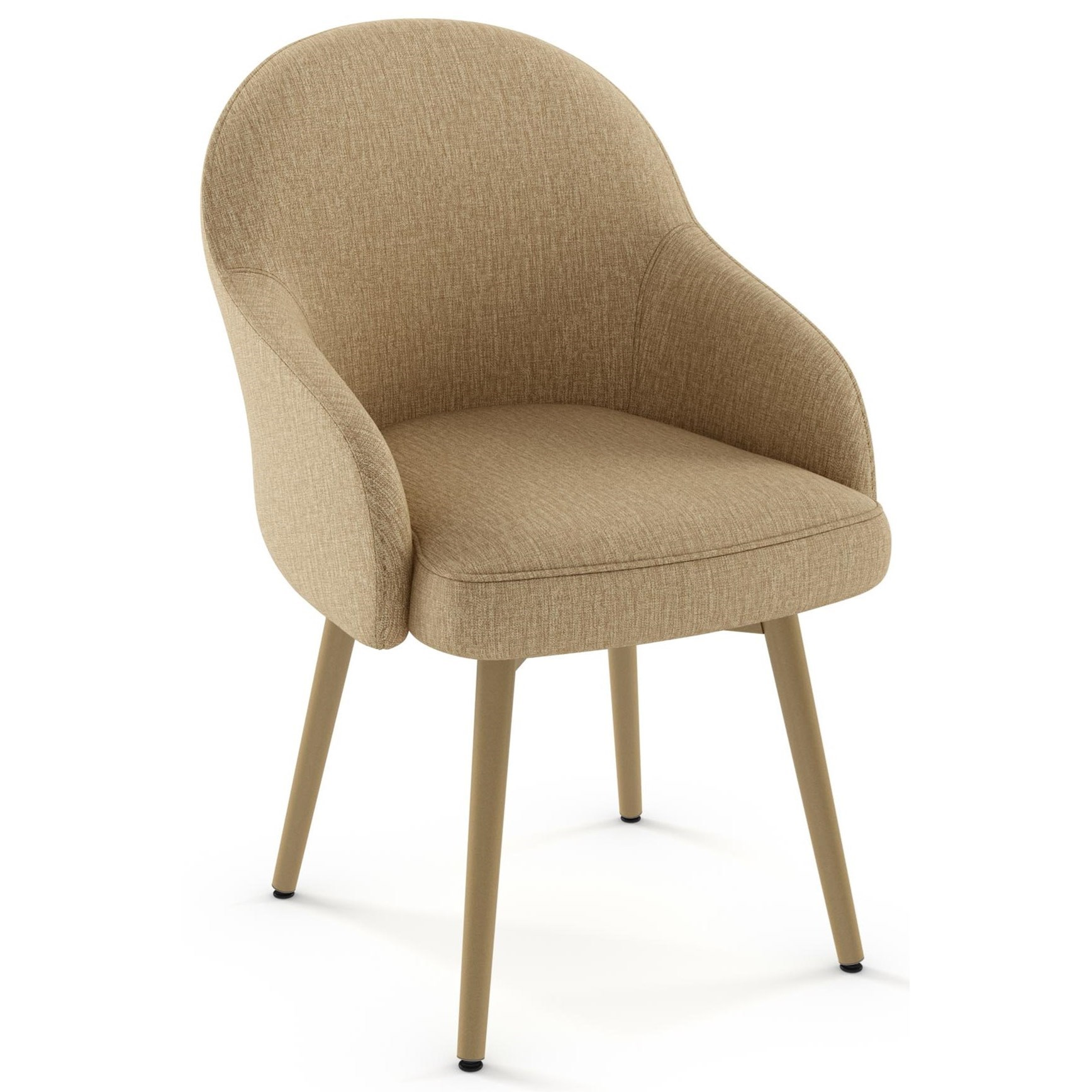 Boudoir Weston Swivel Chair by Amisco at Dinette Depot
