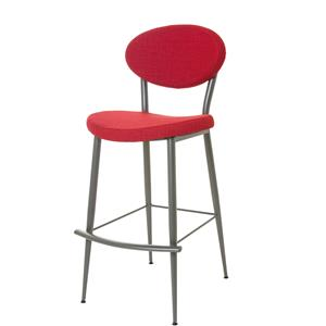 "Amisco Boudoir 30"" Bar Height Opus Stool"