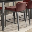 "Amisco Boudoir 26"" Ethan Plus Counter Stool - Item Number: 45309-26-57-BV"