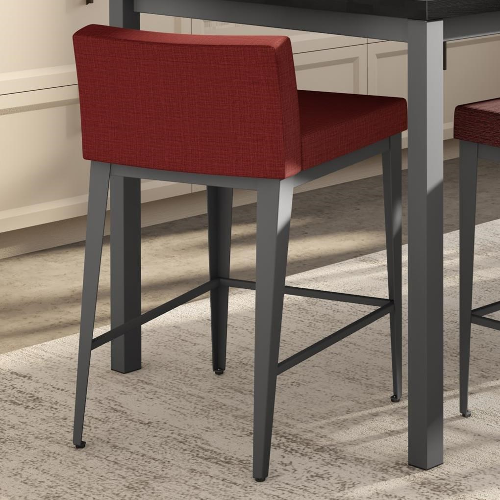 """Boudoir 26"""" Ethan Plus Counter Stool by Amisco at Jordan's Home Furnishings"""