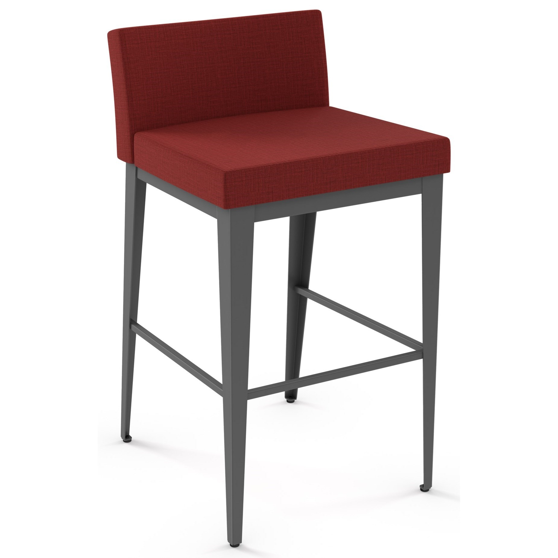"Boudoir 30"" Ethan Plus Bar Stool by Amisco at Jordan's Home Furnishings"