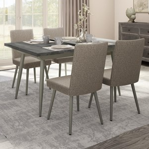 5-Piece Belleville Extendable Table Set