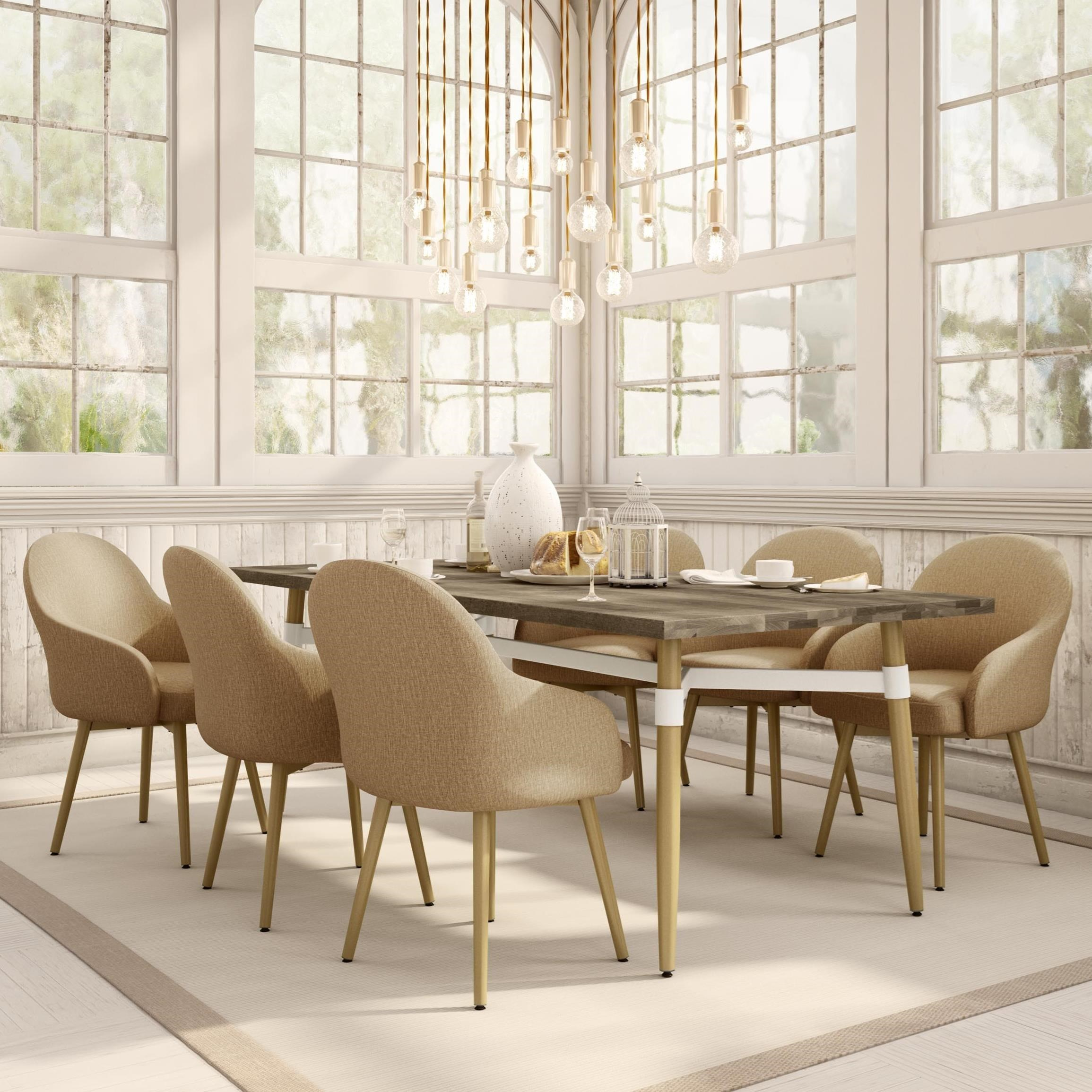 7-Piece Link Dining Table Set
