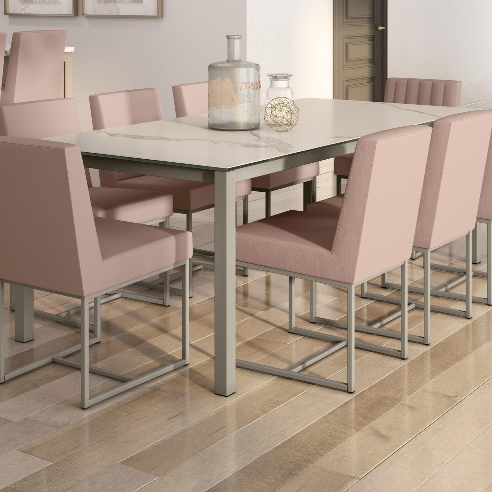 Boudoir Nicholson Table by Amisco at Jordan's Home Furnishings