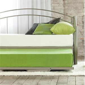 Amisco Clay Clay Trundle Bed