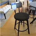 Amisco     Pair of Upholstered Architect Bar Stools - Item Number: 309621808
