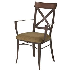 Amisco Countryside Kyle Kitchen Arm Chair