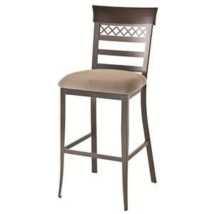 "Amisco Countryside 30"" Non-Swivel Brent Stool"