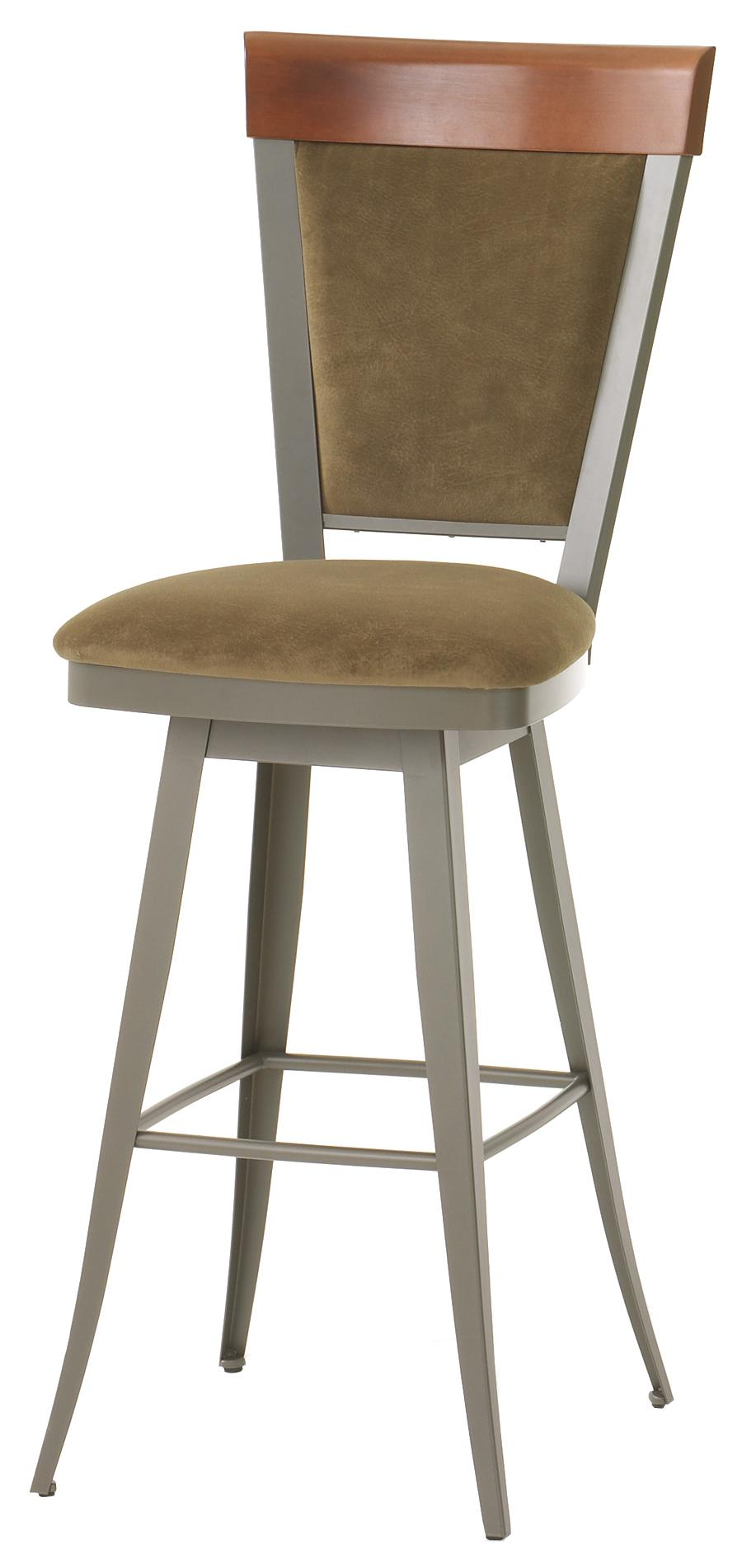 "Amisco Countryside 34"" Eleanor Swivel Stool  - Item Number: 41410 34"