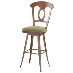 "Amisco Countryside 34"" Cynthia Swivel Stool"