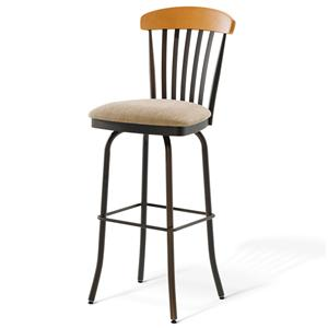 "Amisco Countryside 26"" Tammy Counter Height Swivel Stool"