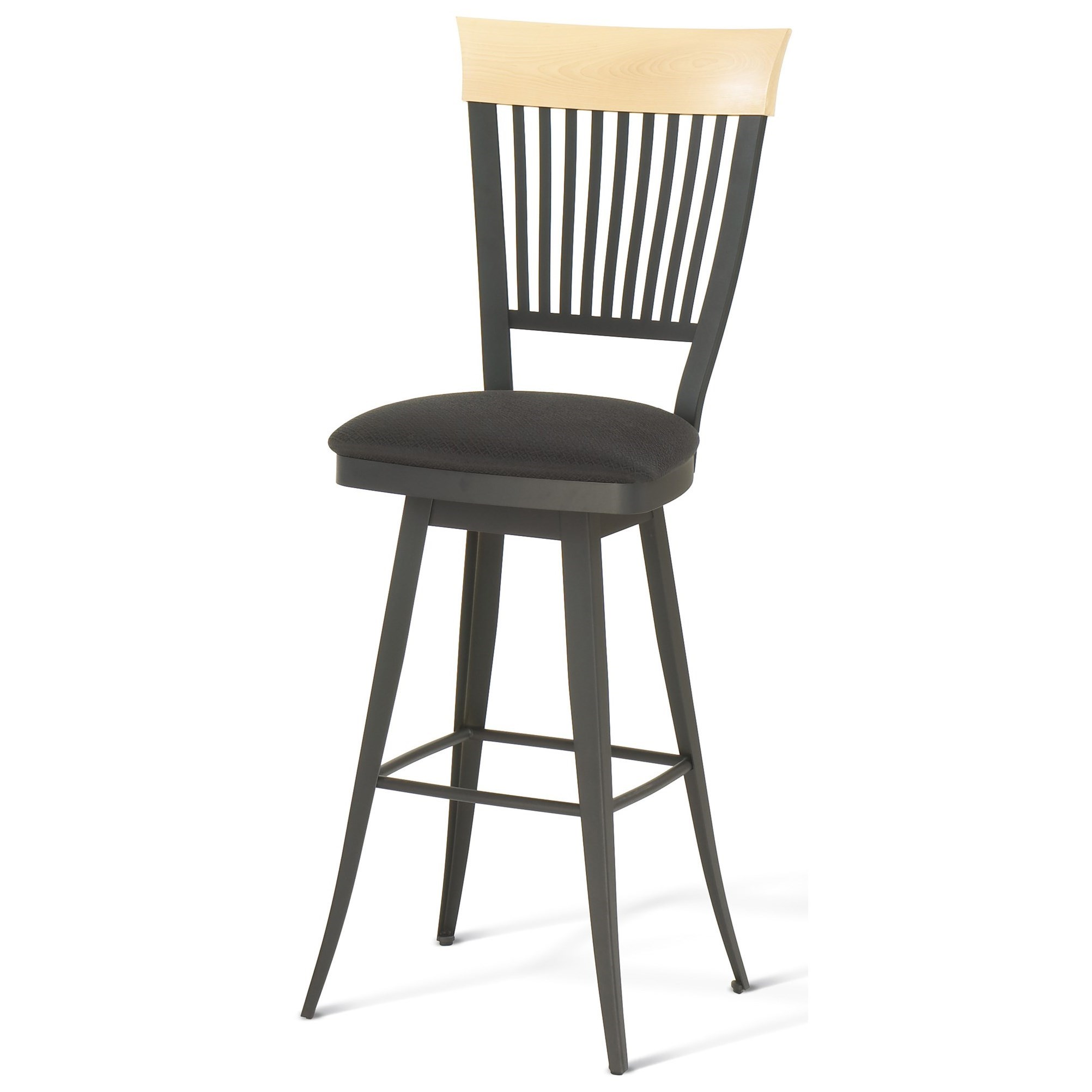 """Countryside 30"""" Annabelle Swivel Bar Stool by Amisco at Dinette Depot"""