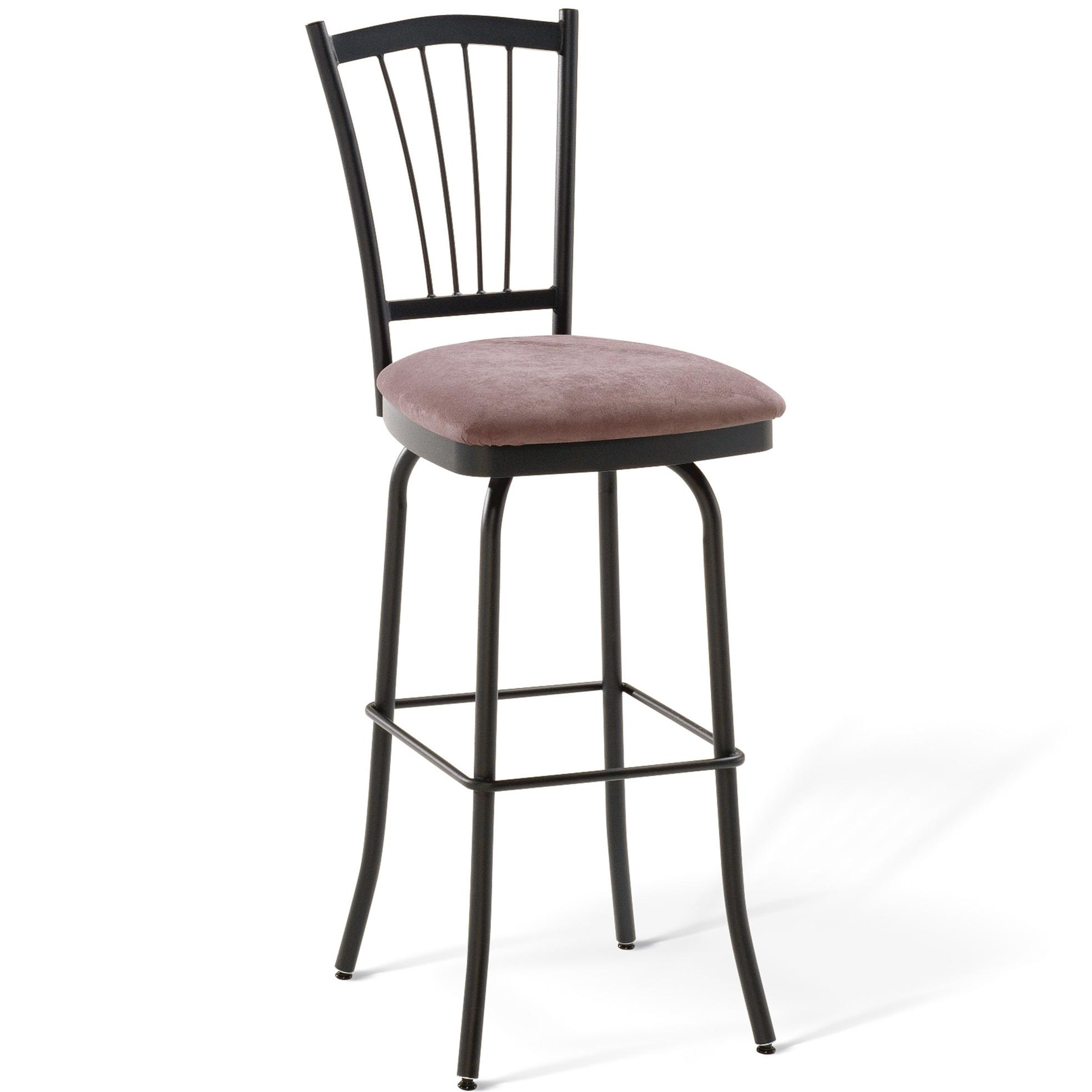 "Amisco Countryside 30"" Naomi Bar Height Swivel Stool - Item Number: 41467 30"