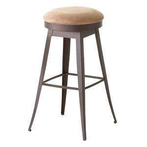 "Amisco Countryside Grace 26"" Swivel Barstool"