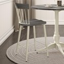 "Amisco Farmhouse 26"" Angelina  Counter Stool - Item Number: 40227-26-68-89"