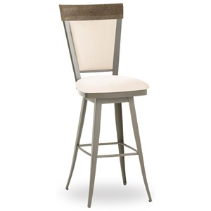 "34"" Eleanor Spectator Height Swivel Stool"