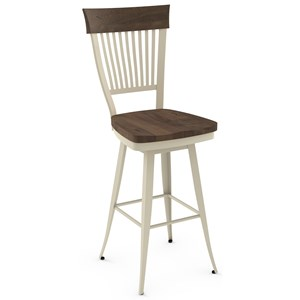 "34"" Annabelle Spectator Height Swivel Stool"