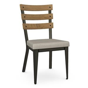 Dexter Chair with  Upholstered Seat