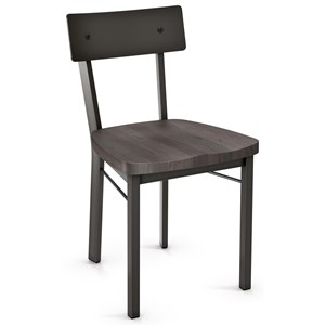Lauren Chair with Wood Seat