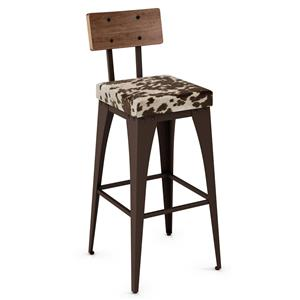 Amisco Industrial Upright 26 Barstool