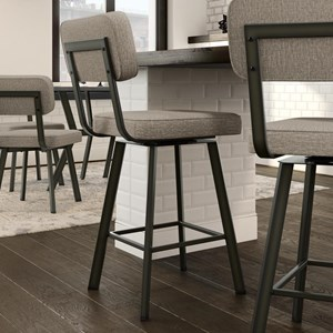 Brixton Swivel Stool, Counter Height