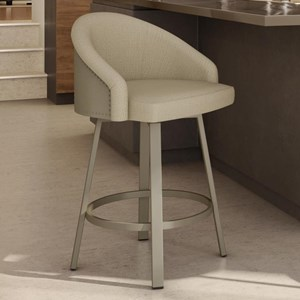 "2257 Industrial 26"" Counter Height Fresno Swivel Stool"