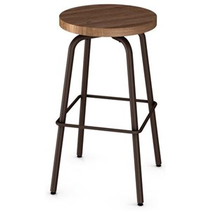 "26"" Button Swivel Counter Stool"
