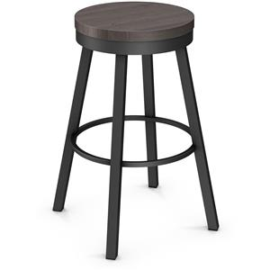 "Amisco Industrial 26"" Connor Counter Height Stool"