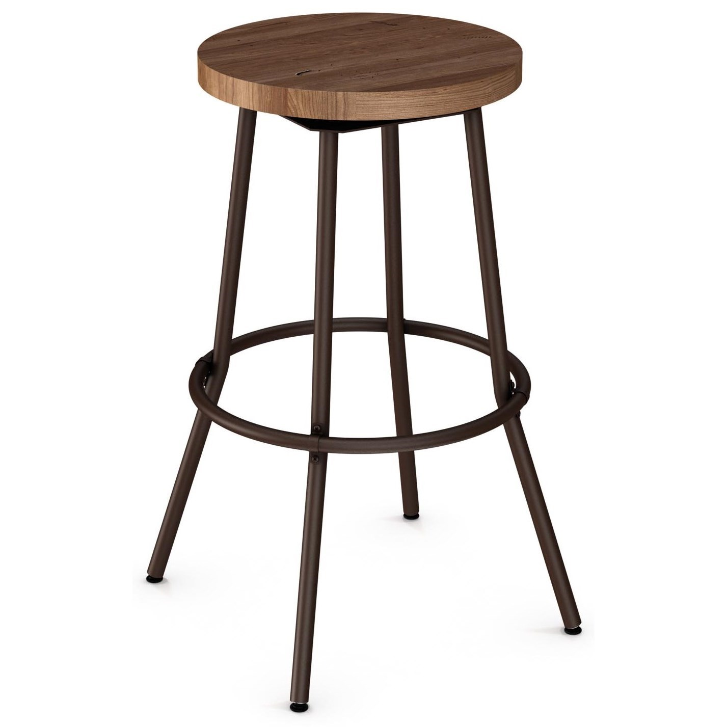 30 bar stools without back 2257 industrial 30 quot bluffton swivel stool without backrest 7320