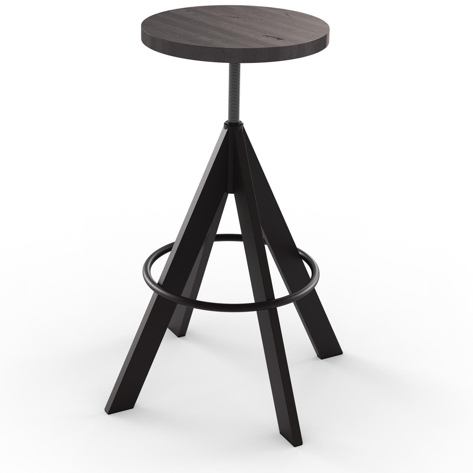 2257 Industrial 42614 Uplift Adjustable Height Stool With