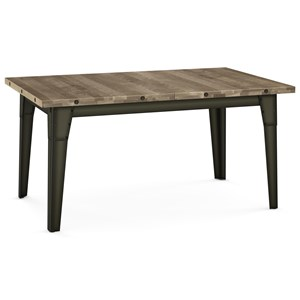 2257 Industrial Tacoma Extendable Table
