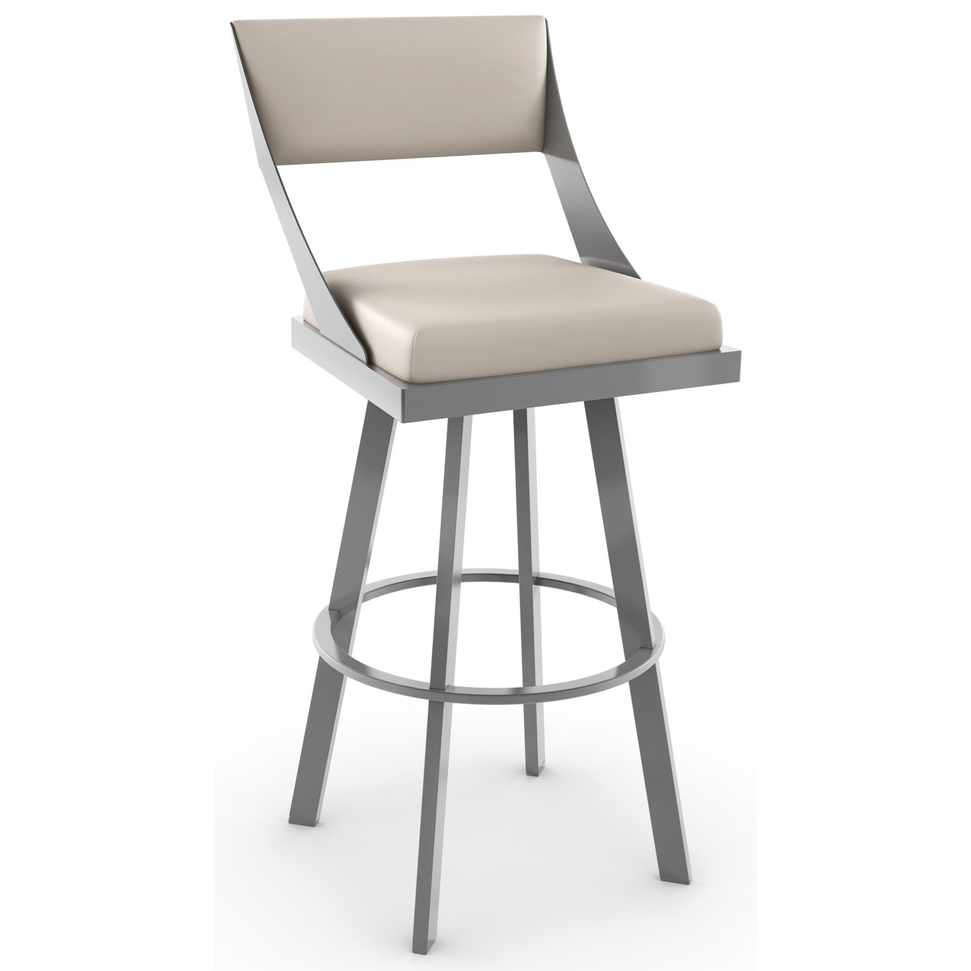 """New York 26"""" Counter Height Fame Swivel Stool by Amisco at Dinette Depot"""