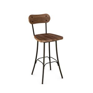 Amisco Stools Bean Swivel Stool