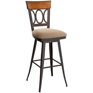 Amisco Stools Cindy Bar Stool