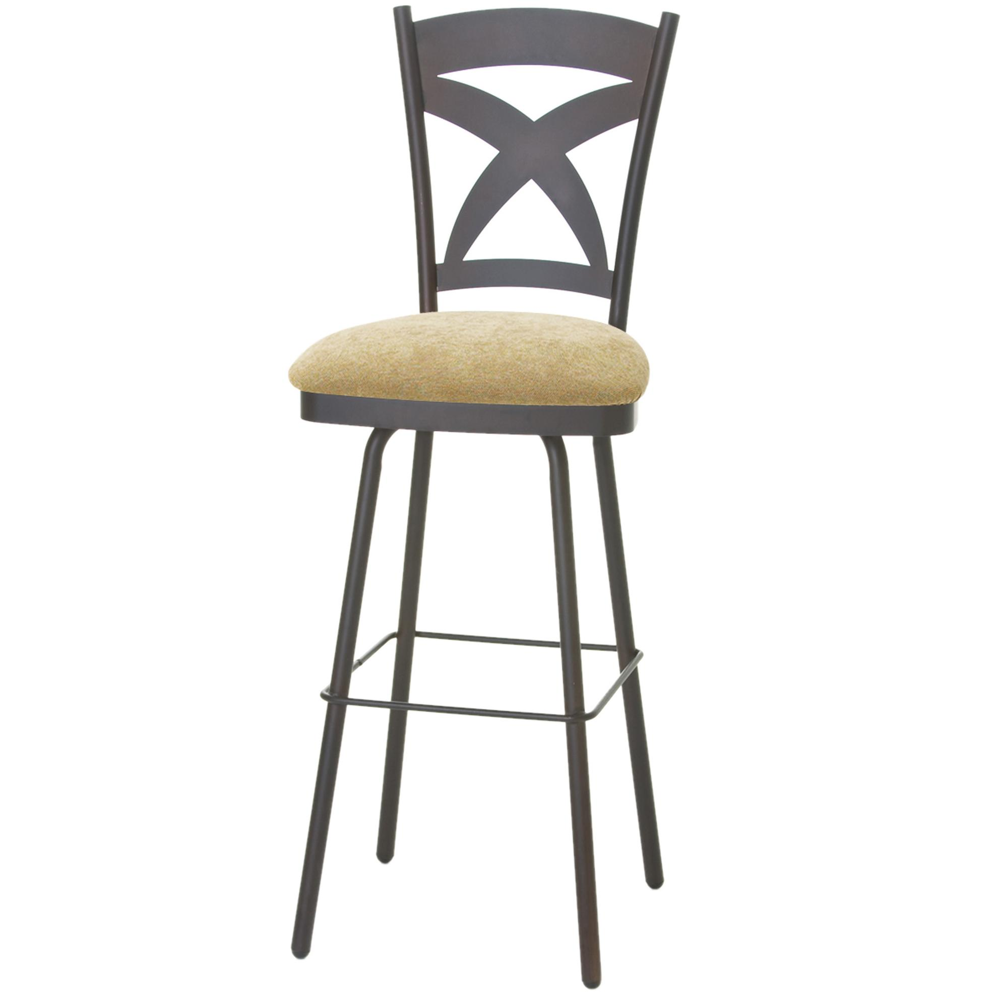 Amisco Stools 41451 26 Cottage Marcus Counter Stool With X