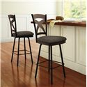Amisco Stools Cottage Marcus Counter Stool with X Back