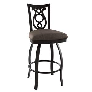 "Amisco Stools 30"" Bar Height Harp Stool"