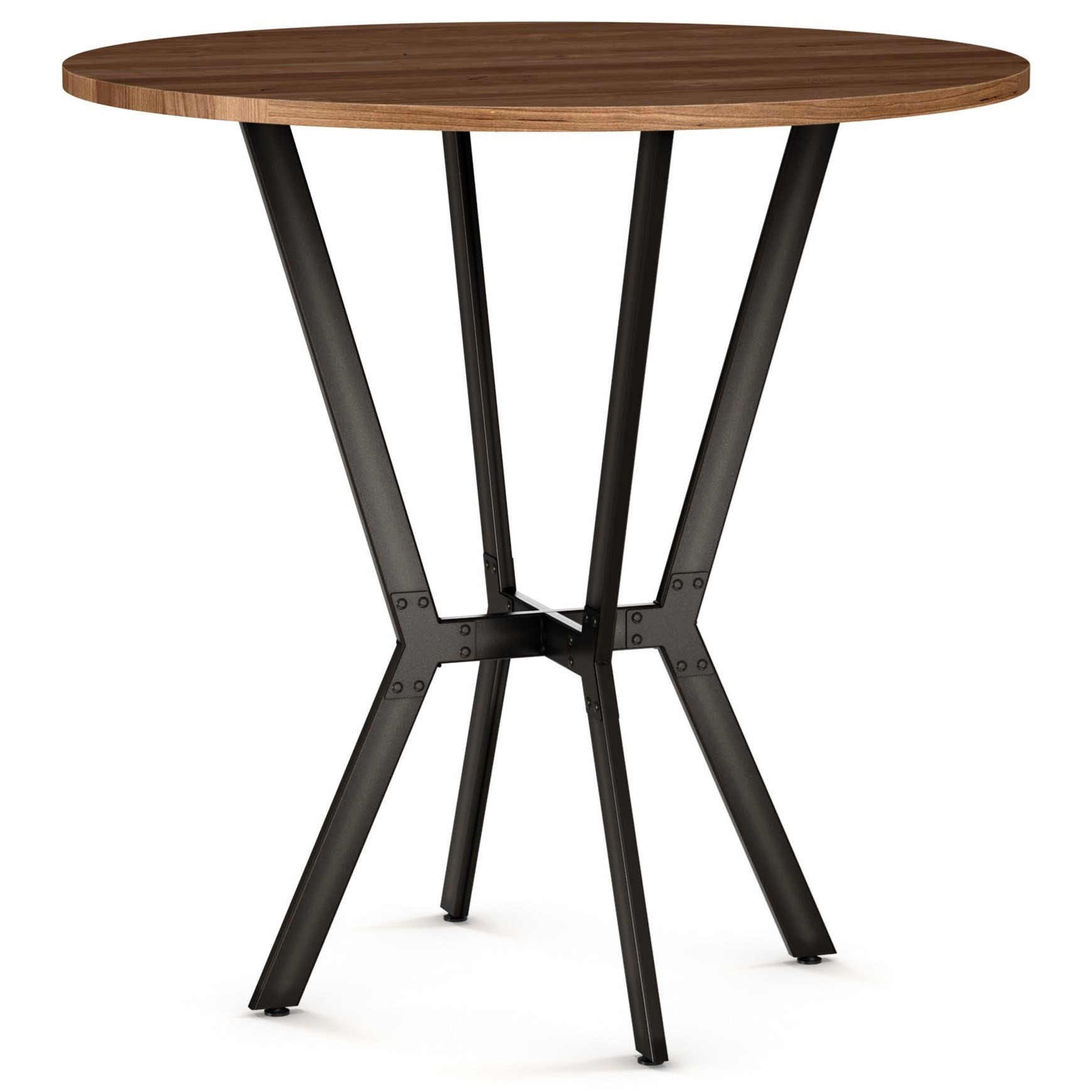 Norcross Bar Table w/ Solid Wood Top