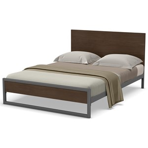 Queen Lidgie Regular Footboard Bed