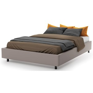 Queen Cumulus Storage Upholstered Bed