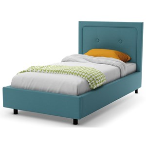 Twin Legend Upholstered Bed