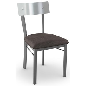 Lauren Chair with Stainless Steel Backrest