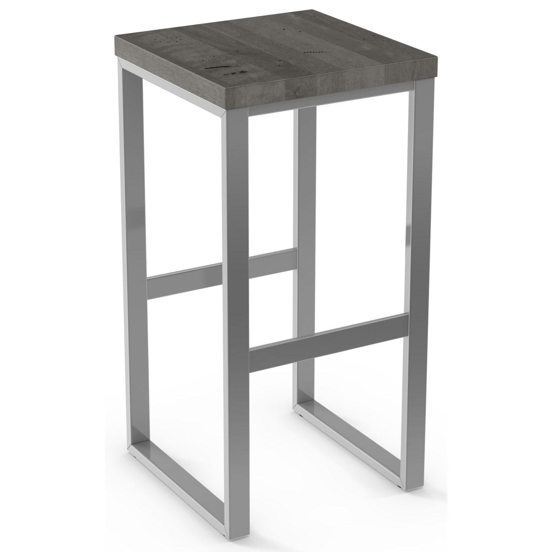 "26"" Counter Height Aaron Stool (Wood)"