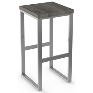 "30"" Aaron Non Swivel Bar Stool (Wood)"