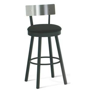 "Amisco Urban 30"" Bar Height Lauren Swivel Stool"