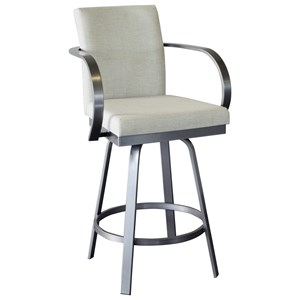 "Customizable 26"" Lance Swivel Stool"