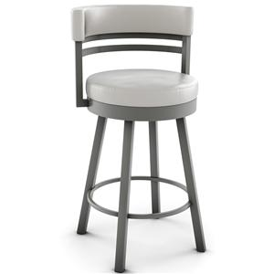 "Amisco Urban 26"" Counter Height Ronny Swivel Stool"