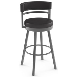 "34"" Spectator Height Ronny Swivel Stool"